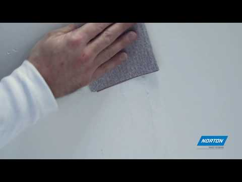 Norton Essential Cut Sheets for Hand Sanding Drywall & Plaster, Paint & Varnish