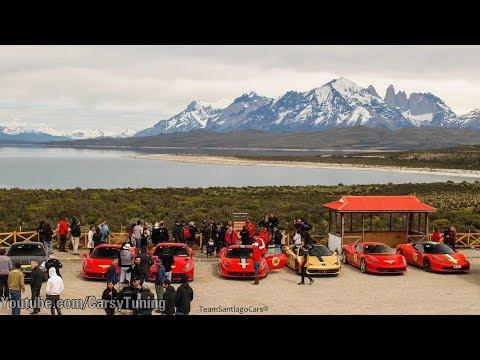 Passione Unica Ferrari Patagonia 2018 - Day 2 Puerto Natales to Torres del Paine!
