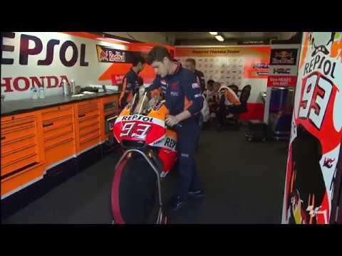 Repsol Honda Riders Marc Marquez and Dani Pedrosa Complete First Day of Second 2017 Preseason Test