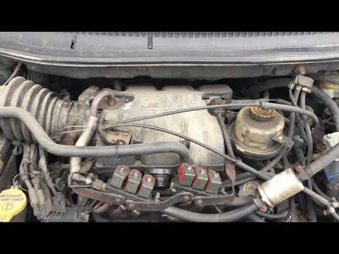 Dodge Caravan 2002 m dalys