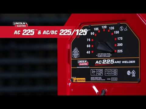 Lincoln Electric AC-225 230V Stick Welder - 225 Amp Output, Model# K1170
