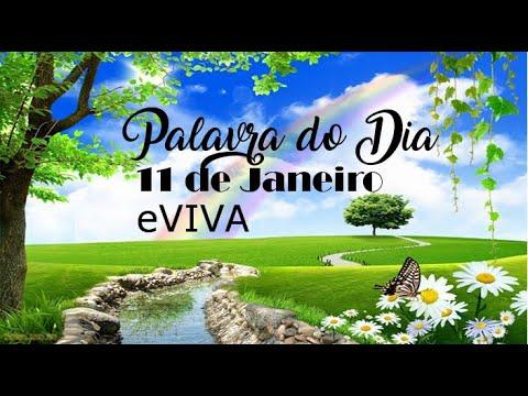 PALAVRA DE DEUS PARA HOJE 11 DE JANEIRO eVIVA MENSAGEM MOTIVACIONAL PARA REFLEXÃO DE VIDA