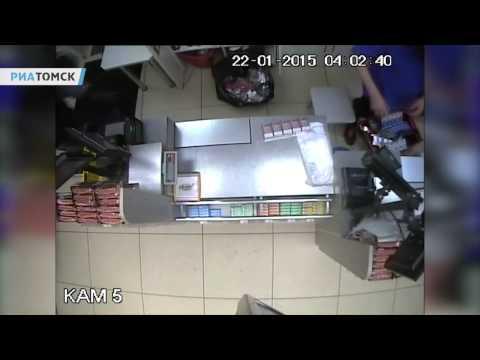 Томская полиция задержала подозреваемых в 11 налетах на магазины