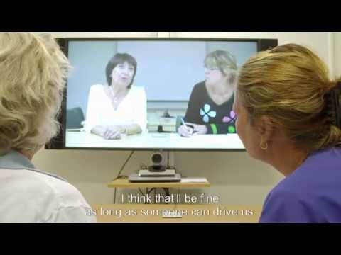 Patient care planning by means of video conference