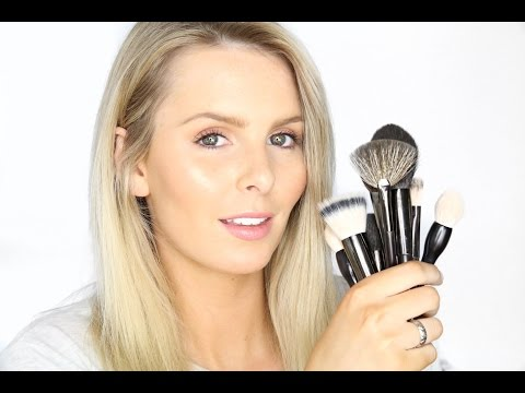 WHAT'S IN MY PROFESSIONAL MAKE UP KIT | BRUSHES | RACHAEL BROOK