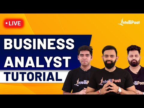 Business Analyst Training | Business Analyst Full Course | Business Analyst | Intellipaat