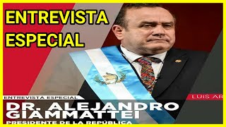 ???? Retransmisión   Entrevista Tv Azteca Presidente de Guatemala Alejandro Giammattei 04/05/2021