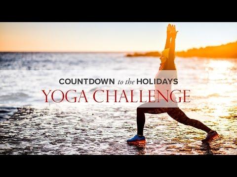 Holiday Yoga Challenge: 15-minute Yoga Warm Up