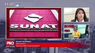 PBO: Exprocuradora Delia Muñoz SOBRE DEMANDA DE SUNAT AL EQUIPO ESPECIAL LAVAJATO POR ODEBRECHT
