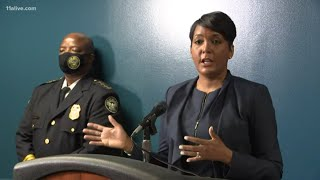 Atlanta mayor addresses crime in city | Live now