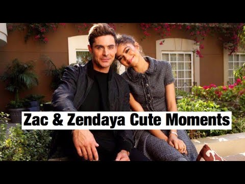 connectYoutube - Zac Efron & Zendaya | Cute Moments