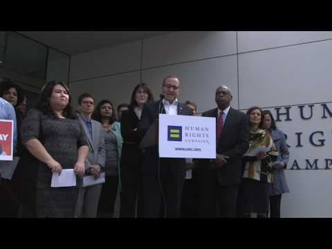 Chad Griffin Joins Civil Rights Leaders to Oppose Donald Trump's Anti LGBTQ Agenda