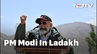 Watch: PM's Full Speech To Troops In Ladakh - NDTV