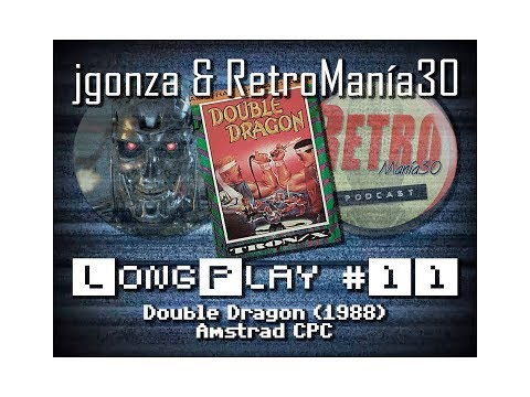 Double Dragon - Amstrad CPC Longplay