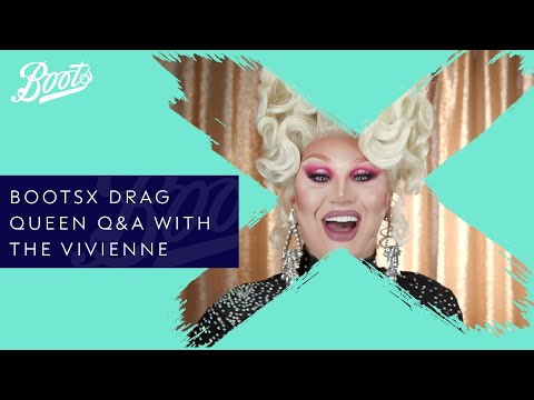 boots.com & Boots Promo Code video: The Vivienne | Q&A with the Queen of RuPaul's Drag Race UK | BootsX | Boots UK