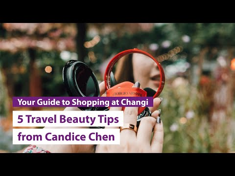5 Travel Beauty Tips from Candice Chen (@makeup_box)
