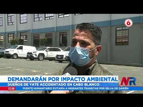 Demandarán a dueños de yate accidentado en Cabo Blanco