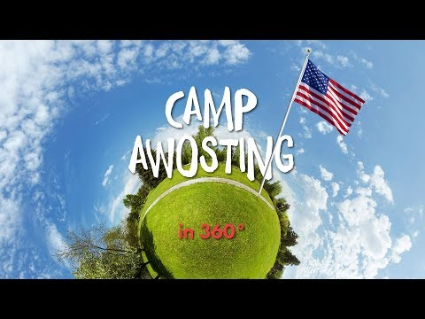 Camp Awosting in 360° ► Camp America | AIFS Deutschland
