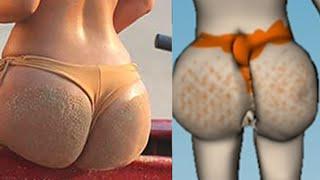 Sculpturing Kim K's Butt!