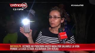 Matagalpa: Maestro muere calcinado por incendio en su hogar - Nicaragua