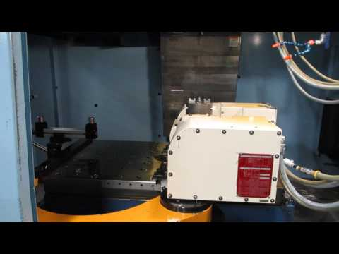 2005 Matsuura ES800V-PC2 Dual Pallet Vertical Machining Center with 5th Axis Rotary Table