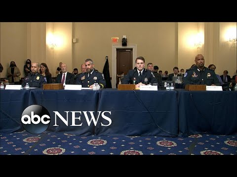 Officers on front lines of Jan. 6 riot testify in 1st select committee hearing