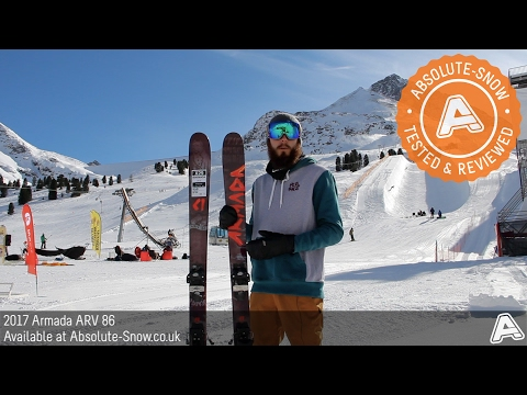 2016 / 2017 | Armada ARV 86 Skis | Video Review