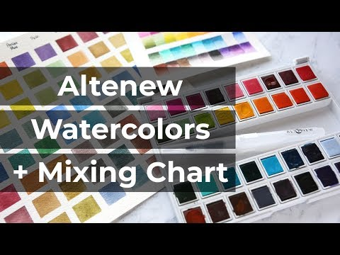 Watercolor Week: You NEED a Color Mixing Chart + Altenew Watercolors