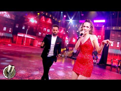 Agustín Sierra e Inbal Comedi interpretaron «La flor más bella» debutando en la primera semifinal
