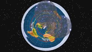 How the Southern Stars Work on Flat Earth