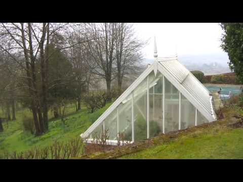 An exposed Alitex Greenhouse standing the test of time