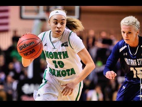 North Dakota's Makailah Dyer - #BigSkyWBB Player of the Week