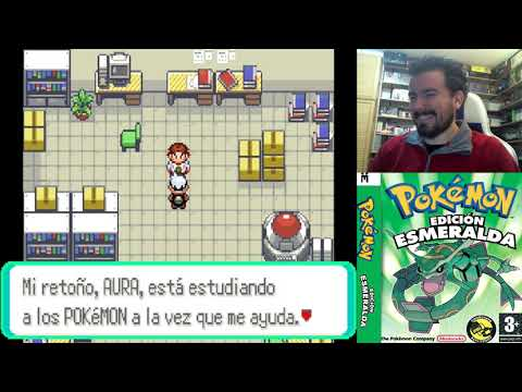 POKEMON ESMERALDA (Game Boy Advance) - Gameplay en Español GBA