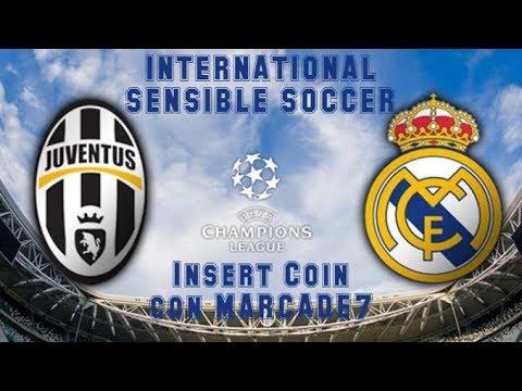 International Sensible Soccer (1994) - Mega Drive - Juventus vs Real Madrid con Marcade7