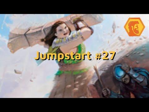 MTGA Jumpstart #27 - Barreiras Vampiras