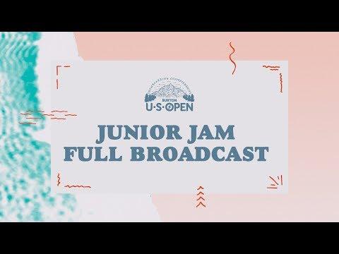 Full Broadcast Replay - 2018 Burton U·S·Open Junior Jam Presented by Clif Bar