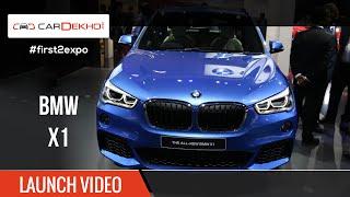 #first2expo | BMW X1 Launch Video | CarDekho@AutoExpo2016