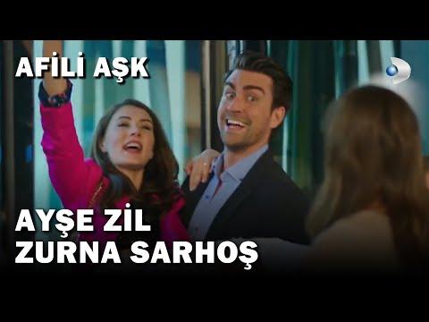Ceyda Oyun Yaptı, Ayşe Sarhoş Oldu - Ayşe Zil Zurna Sarhoş! - Afili Aşk 16.Bölüm