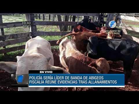 Policía sería líder de banda de abigeos en Caaguazú