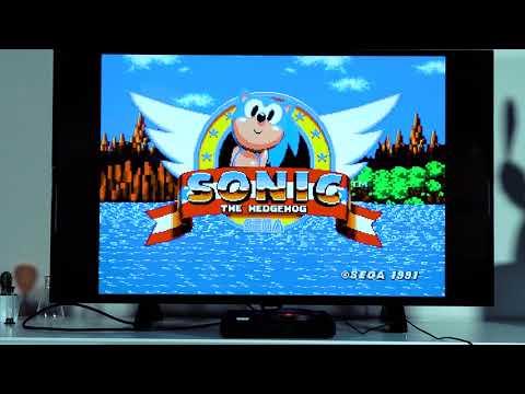 SEGA Megadrive Flashback HD Retro Konsol