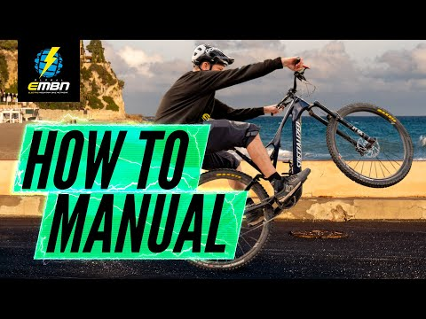 Why Should You Learn To Manual Your E Bike? | How To Manual With EMBN