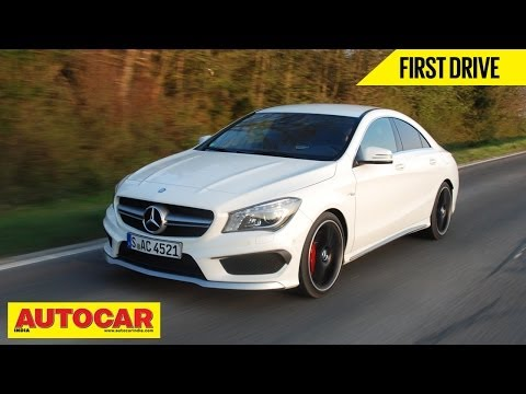 Mercedes Benz CLA 45 AMG | First Drive Video Review