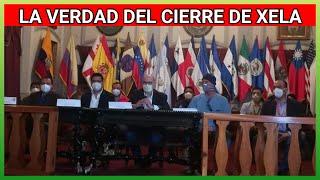 Dr Asturias en gira en la ciudad de Quetzaltenango, y reunión con autoridades municipales