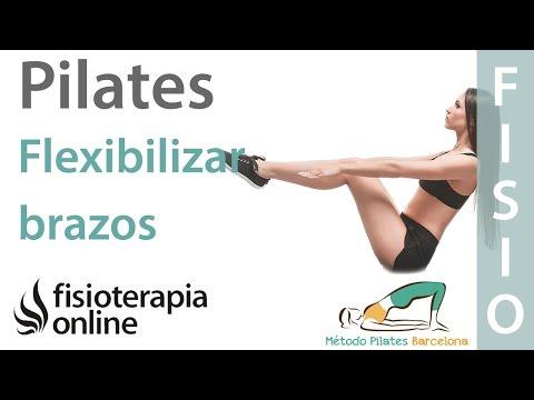 Ejercicios de Pilates para flexibilizar tus brazos