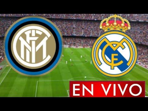 Donde ver Inter vs. Real Madrid en vivo, por la Jornada 1, Champions League 2021