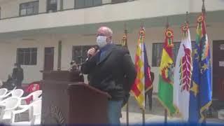 ARTURO MURILLO RECIEN HOY SE ACORDÓ DE ENTREGAR EQUIPOS DE BIOSEGURIDAD AL PERSONAL POLICIAL ..