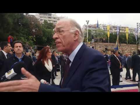 Δηλώσεις Β. Λεβέντη από Θεσσαλονίκη / 27-10-2016