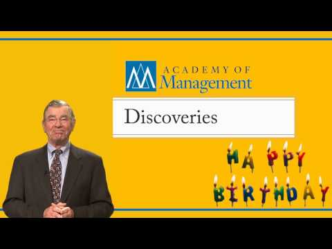 AOM Discoveries First Birthday!