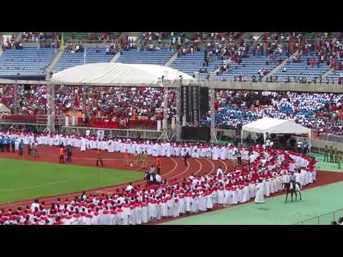 4000 konfirmander til Luther-fest i Dar es Salaam