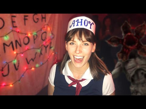 I threw my friends a Stranger Things themed party for Halloween!